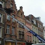 Row Houses in Brugge