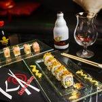 cervezas belgas y sushi nikkei