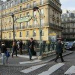 Europe Metro entrance