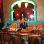 the restaurant Las Estrellas serves great food