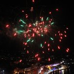 Fireworks at midnight!