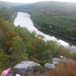 Upper Delaware River, view from Ecce B&B