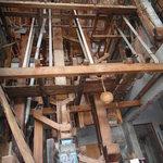 全台最大--50年代木製碾米機