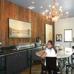gorgeous tasting room