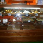 Our delicious display case