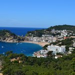 Tossa de Mar - Hotel Diana on beach