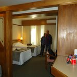quarto do hotel faial