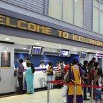 Airport and Ticket Counters of KidZania Mumbai