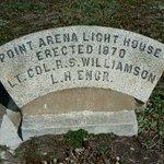 Original lighthouse base