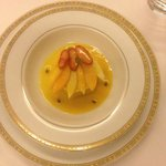 postre de mango, fresco y ligero :)