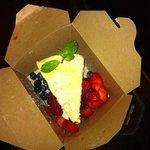 Baked NY cheesecake