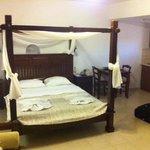 kamer met hemelbed