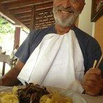 my darling and his mushroom ragu pasta