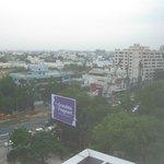 Street view from Hyatt Regency Chennai