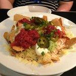 big bowl of nachos