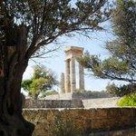 The Temple of Apollo, Rhodes Town