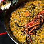 Paella de Langosta - Lobster Paella