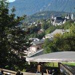 Ausblick auf Berchtesgaden