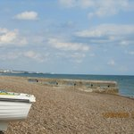Brighton - from Portslade Beach adjacent to the Lagoon....worth a visit :-)  5 min drive from ho