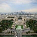 Amazing view of Paris from the top