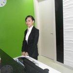 reception staff