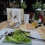 Lovely salad starter