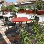 Breakfasts can be enjoyed in our lovely terrace!