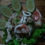 sour & spicy seafood salad