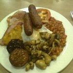 super sized breakfast