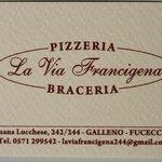 Pizzeria Braceria La Via Francigena