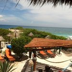 View from Palapa #1