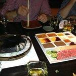 Kobe beef & hot rock