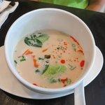 Wunderbare Coconut-Soup
