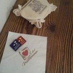 Cioccolatini e kit di cortesia