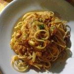 spaghetti ragù di pesce