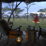 View from your tent at Kicheche Bush camp