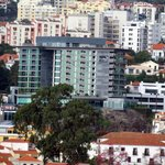 Hotel from tha cablecar of Funchal
