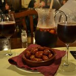 best Chorizo ans lovely Sangria