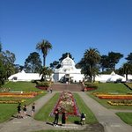 Golden Gate Park with clear blue skies!