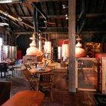 Table Seating near Distillery Area