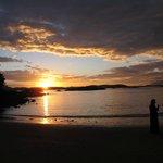 McKenzie beach sunset