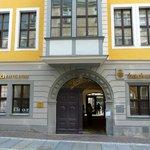 Bach museum entrance