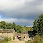 the Comrie Croft buildings