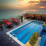 Rooftop Patio & Plunge Pool - Adults Only Area