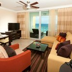 Living Room - One Bedroom Ocean Front Suite