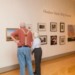 Art exhibition at Lyndon House Arts Center
