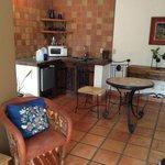 Kitchen area, hammock suite