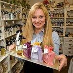 Denise Purdie in her Oban shop