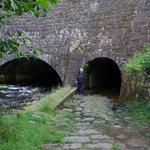 Tunnels under Caladonian Canal in Muirshearlich, Scotland.