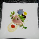 Albacor Tuna appetizer